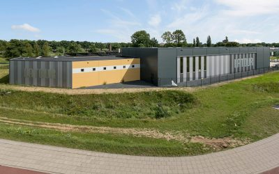 Een nieuwe bedrijfshal voor Twan Vogel Beheer BV